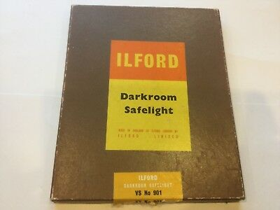 VINTAGE ILFORD DARKROOM SAFELIGHT VS No. 901