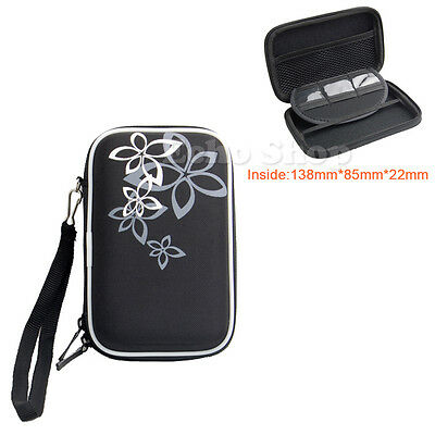 """2.5"""" HDD EVA Hard Case Pouch For WD My Passport External SSD"""