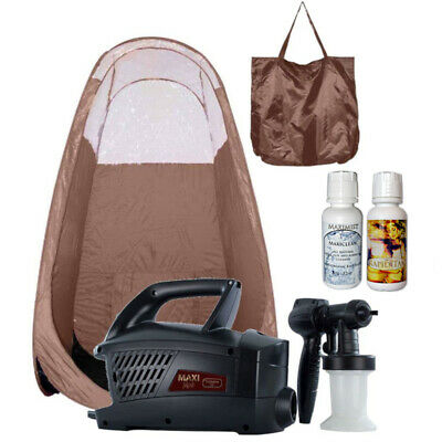 Maximist Evolution TNT Sunless Spraytan HVLP unit with Brown Tent and TBT spray