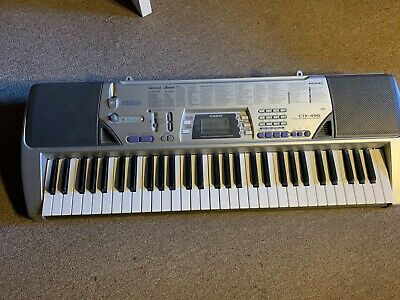Used Casio CTK-496 Cord Not Included