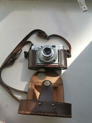Agilux camera agimatic 35/45mm with case (case not in one piece)