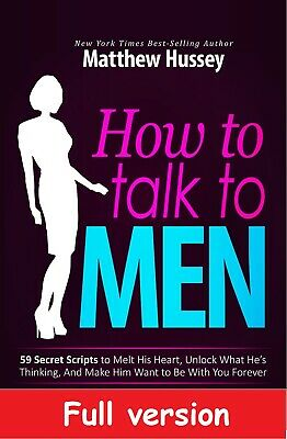 How to Talk to Men - Matthew Hussey PDFeBook - Full Version ✅