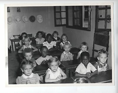 1954 Original Belgian Congo Integrated School Photo Segregation Leopoldville