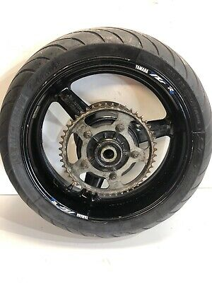Yamaha R6 5EB Rear Wheel & Tyre Complete With Disc & Sprocket