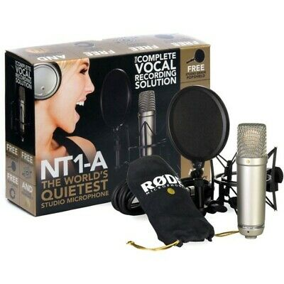 Rode NT1-A Complete Vocal Recording Solution | Neu