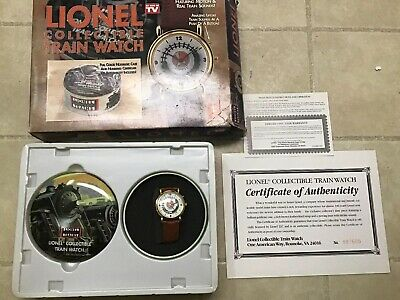 Lionel Collectible Train Watch Train Sounds New