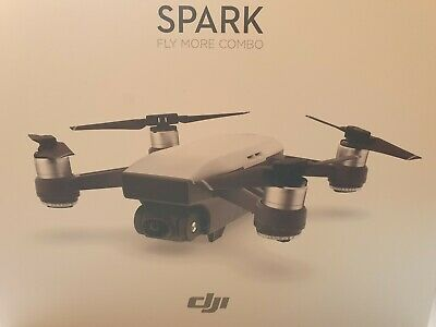 Dji spark fly more Combo Alpin weiß