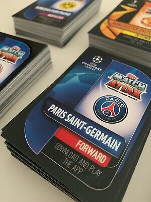 Match Attax 2019/20 Champions League - Bundle Of 50 Cards! (NO DUPLICATES)