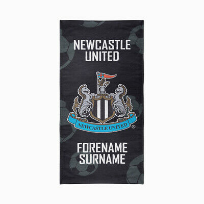 Personalised Newcastle United Towel | Microfibre Beach Towel | Licenced Product
