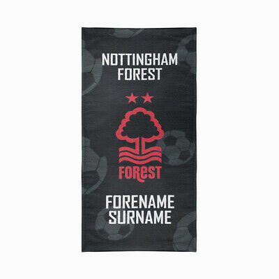 Nottingham Forest F.C. Beach Towel – Personalise with Any Name