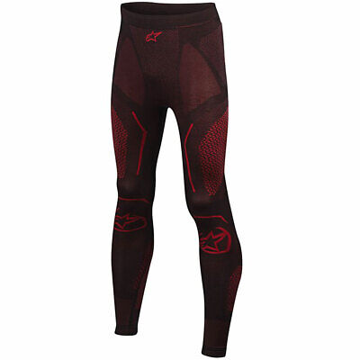 #c Alpinestars Ride Tech Summer Trousers Black / Red - XS-S