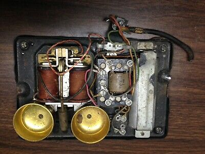 western electric telephone 302 Ringer Network Inside Parts Complete