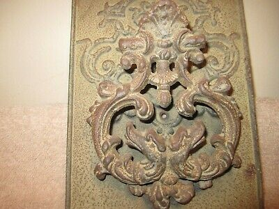 Antique /  Victorian Cast Iron Great Looking  Door Knocker