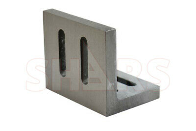 """Shars Precision Ground .0005"""" Open End Angle Plate 3-1/2x3x2-1/2"""" New"""