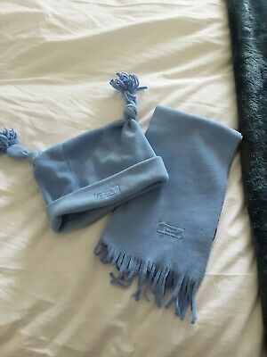 🧣Girl's Blue Hat And Scarf Set Junior🧣