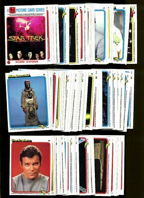 1979 Topps Star Trek Partial Set 87/88 Mint N196334