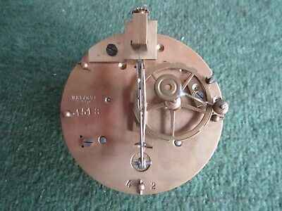 Antique French Brevete Mantel Clock Movement In Very Good Working Order