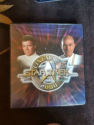 Star Trek Cinema 2000 trading card: base set + subsets + binder + autograph card