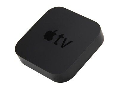 Apple TV (3rd Generation) Black  **NEW** Factory Sealed