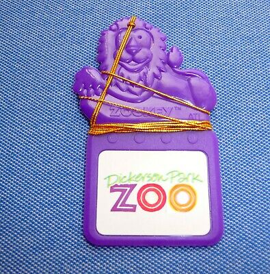 ✨Vintage Dickerson Zoo Key ✪ Talking Storybook  Magnetic Style ✪ Mint Condition✨