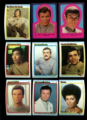 1979 Topps Star Trek Complete Set W/Stickers Mint *Inv1861