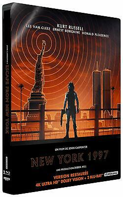 New York 1997 [4K Ultra HD bonus - Édition boîtier SteelBook]