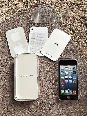 BOX ONLY Apple iPod touch 5th Generation Black & Slate (32 GB) BOX ONLY