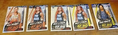 Slam Attax Universe Limited Edition Cards