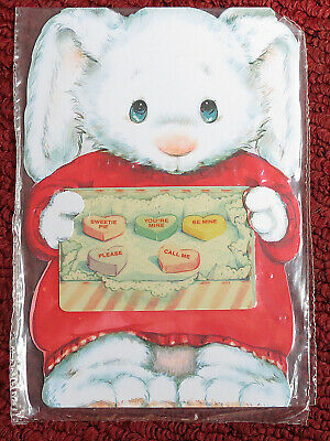 4 Hallmark Valentine's Day mint collectible vintage phonecards greeting cards