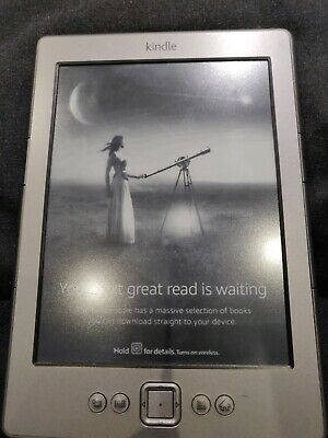 Amazon Kindle eReader 4th Generation 2GB Wi-Fi 6in Ebook Reader - GraphiteD0110