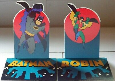 Adventures of Batman & Robin | Collectible Pop Up Trading Cards | Full Set