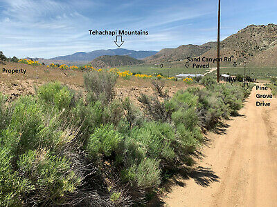 2.5 Acres Sand Canyon-Tehachapi, California Beautiful Property