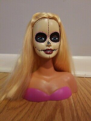 Day Of The Dead Barbie Head
