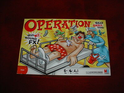 OPERATION Classic Kids Family Board Interactive Electronic Game MB Complete