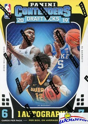2019/20 Panini Contenders Draft Picks Basketball Factory Sealed Blaster Box-AUTO