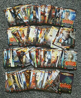 Over 160 Doctor Who Battles In Time Cards Bbc 2007 Trading Card Game