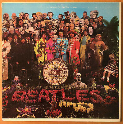 THE BEATLES  Sgt Peppers CAPITOL MAS 2653 MONO 1ST EDITION COMPLETE  F1/F1 RARE
