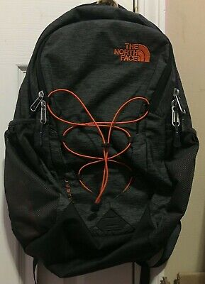The North Face Jester Backpack - Grey/Orange - BRAND NEW