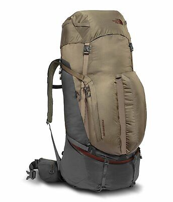 New THE NORTH FACE Fovero 85 Liter Hiking Outdoors Technical Backpack Small/Med