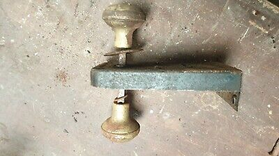 HOUSE DOOR VINTAGE ANTIQUE DOOR LOCK LATCH  Victorian rim latch metal tin cast