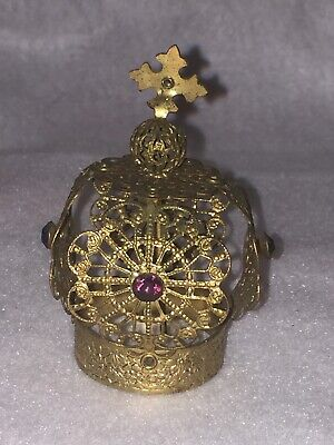 Vintage Santos Crown Holy Halo Madonna Virgin Mary Saint Fine Detail