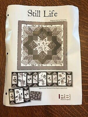 """Still Life"" Quilt or Wallhanging Kit"