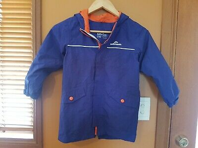 Kathmandu kids blue orange windcheater Jacket Sz 6 exc