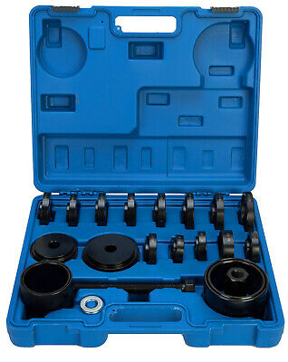 ! 23 pcs FWD Front Wheel Bearing Press Tool Removal Adapter Puller Pulley Kit