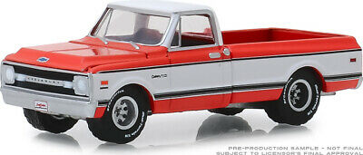 Greenlight 1/64 Barrett Jackson 4 1969 Chevrolet K10 4X4 Pickup Truck 37180C