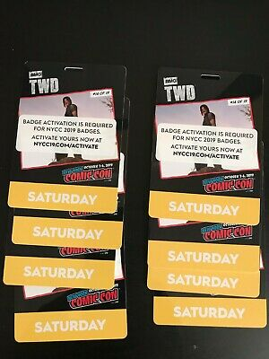 New York Comic Con Ticket Saturday October 5 Pass - NYCC 2019