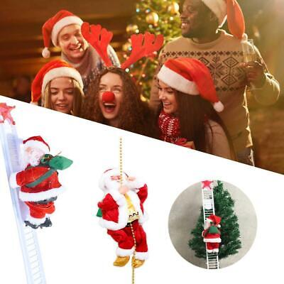 Special Singing Electric Stair Climbing Santa Claus Toy Without Batteries