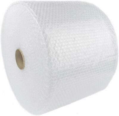 "Bubble Cushioning Wrap Small Padding 3/16"" 700 ft. x 12"" Perforated Every 12"""