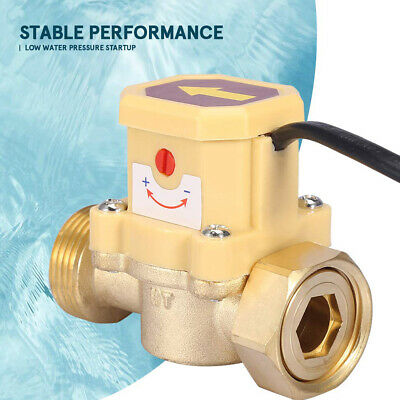 Flow Switch Pressure Water Pump Sensor Sealing Ring Practical Automatic Control