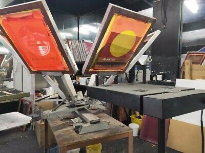 Screen Printing Small Commercial Set up